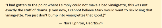 Heartburn Nora Ephorn quote